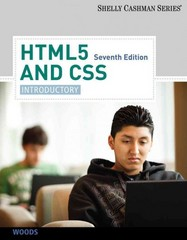 HTML5 and CSS 7th Edition 9781133526131 1133526136