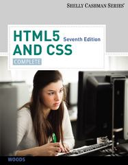 HTML5 and CSS 7th Edition 9781133526124 1133526128