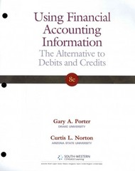 Using Financial Accounting Information 8th edition 9781111534929 1111534926