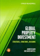 Global Property Investment 1st Edition 9781444347258 144434725X