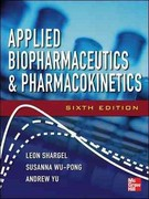 Applied Biopharmaceutics & Pharmacokinetics 6th Edition 9780071603935 007160393X