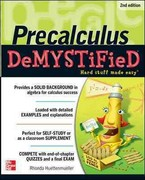 Pre-calculus Demystified, Second Edition 2nd Edition 9780071778497 0071778497