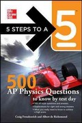 5 Steps to a 5 500 AP Physics Questions to Know by Test Day 1st edition 9780071780728 0071780726