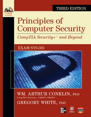 Principles of Computer Security 3rd Edition 9780071786195 0071786198