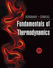 Fundamentals of Thermodynamics 8th Edition 9781118476581 1118476581