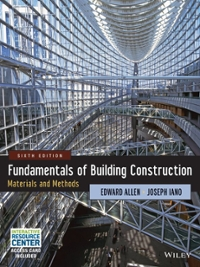 Fundamentals of Building Construction 6th Edition 9781118138915 1118138910