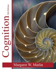 Cognition 8th Edition 9781118148969 1118148967