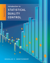 Introduction to Statistical Quality Control 7th edition 9781118146811 1118146816