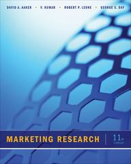 Marketing Research 11th Edition 9781118156636 1118156633