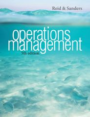 Operations Management 5th Edition 9781118475898 1118475895