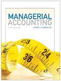 Managerial Accounting 5th Edition 9781118078761 1118078764