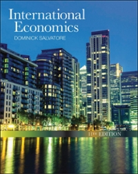 International Economics 11th Edition 9781118177938 1118177932