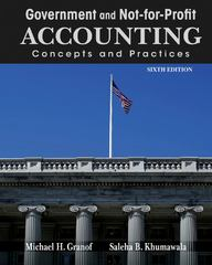 Government and NotforProfit Accounting 6th Edition 9781118155974 1118155971