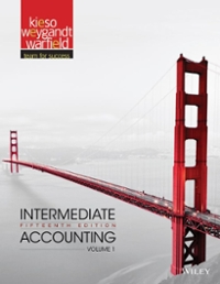 Intermediate Accounting, Volume 1 15th Edition 9781118147276 1118147278