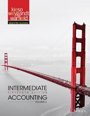 Intermediate Accounting 15th Edition 9781118147283 1118147286