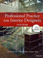 Professional Practice for Interior Designers 5th Edition 9781118419069 1118419065