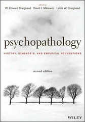 Psychopathology 2nd Edition 9781118106778 1118106776