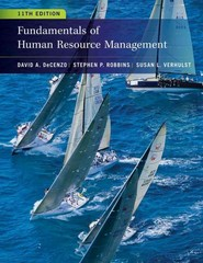 Fundamentals of Human Resource Management 11th Edition 9780470910122 0470910127