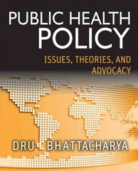 Public Health Policy 1st Edition 9781118164358 1118164350