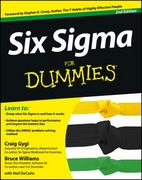 Six Sigma For Dummies 2nd Edition 9781118120354 1118120353