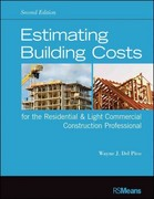Estimating Building Costs for the Residential and Light Commercial Construction Professional 2nd Edition 9781118099414 1118099419