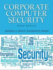Corporate Computer Security 3rd Edition 9780132145350 0132145359