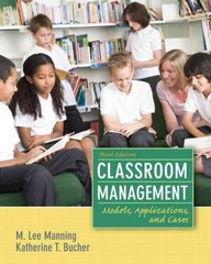 Classroom Management 3rd Edition 9780132693233 0132693232