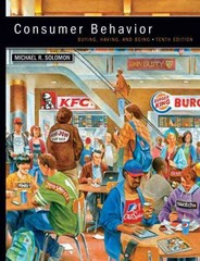Consumer Behavior 10th edition 9780132671842 0132671840