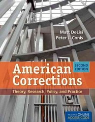 American Corrections 2nd Edition 9781449652388 1449652387