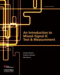 An Introduction to Mixed-Signal IC Test and Measurement 2nd edition 9780199796212 0199796211