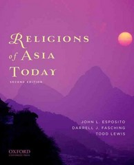 Religions of Asia Today 2nd edition 9780199759491 0199759499