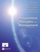 Procurement, Principles & Management 10th edition 9780273713791 0273713795