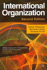 International Organization 2nd Edition 9780230291881 0230291880