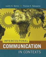 Intercultural Communication in Contexts 6th Edition 9780077769420 0077769422