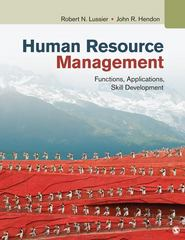 Human Resource Management 2nd Edition 9781483313573 1483313573