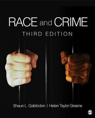 Race and Crime 3rd Edition 9781452202600 1452202605