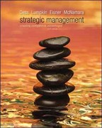 Loose-Leaf Strategic Management: Creating Competitive Advantages 6th edition 9780077439637 0077439635