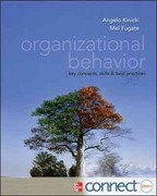 Organizational Behavior with Connect Plus 5th edition 9780077890445 0077890442