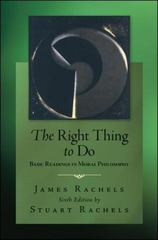 The Right Thing To Do 6th Edition 9780078038235 0078038235