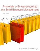 Essentials of Entrepreneurship and Small Business Management, and Business Plan Pro, Entrepreneurship 6th edition 9780137065622 0137065620