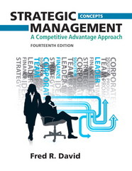 Strategic Management 14th edition 9780132666213 0132666219
