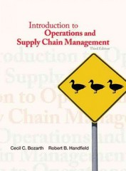 Introduction to Operations and Supply Chain Management 3rd Edition 9780132747325 0132747324
