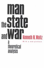 Man, the State, and War 2nd edition 9780231125376 0231125372