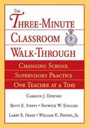 The Three-Minute Classroom Walk-Through 1st edition 9780761929673 0761929673