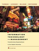 Information Technology for Management 55th edition 9780471705222 0471705225