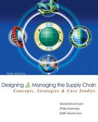 Designing and Managing the Supply Chain with Student CD 3rd Edition 9780073341521 0073341525