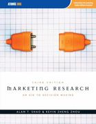 Marketing Research 3rd edition 9781592602889 1592602886