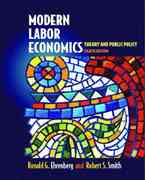 Modern Labor Economics 8th edition 9780201785777 0201785773