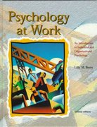 Psychology at Work 2nd edition 9780697201737 0697201732
