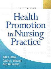 Health Promotion in Nursing Practice 5th edition 9780131194366 0131194364